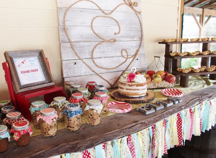 Head Table from a County Fair Themed Birthday Party via Kara's Party Ideas | The Place for All Things Party! KarasPartyIdeas.com (23)