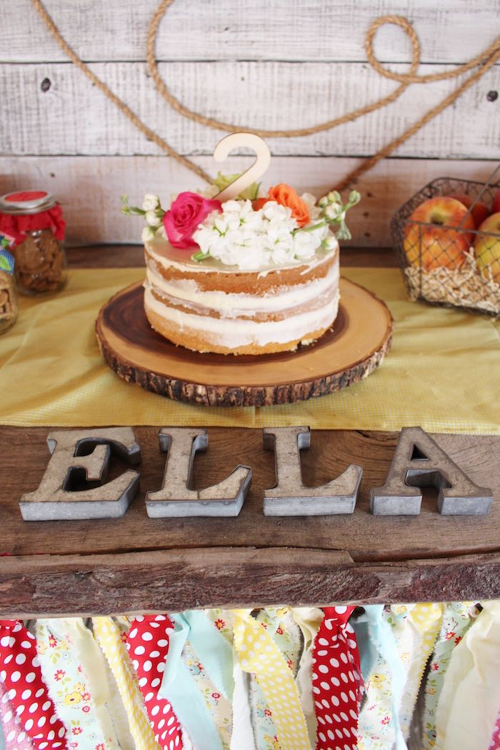 Head Table Details from a County Fair Themed Birthday Party via Kara's Party Ideas | The Place for All Things Party! KarasPartyIdeas.com (20)