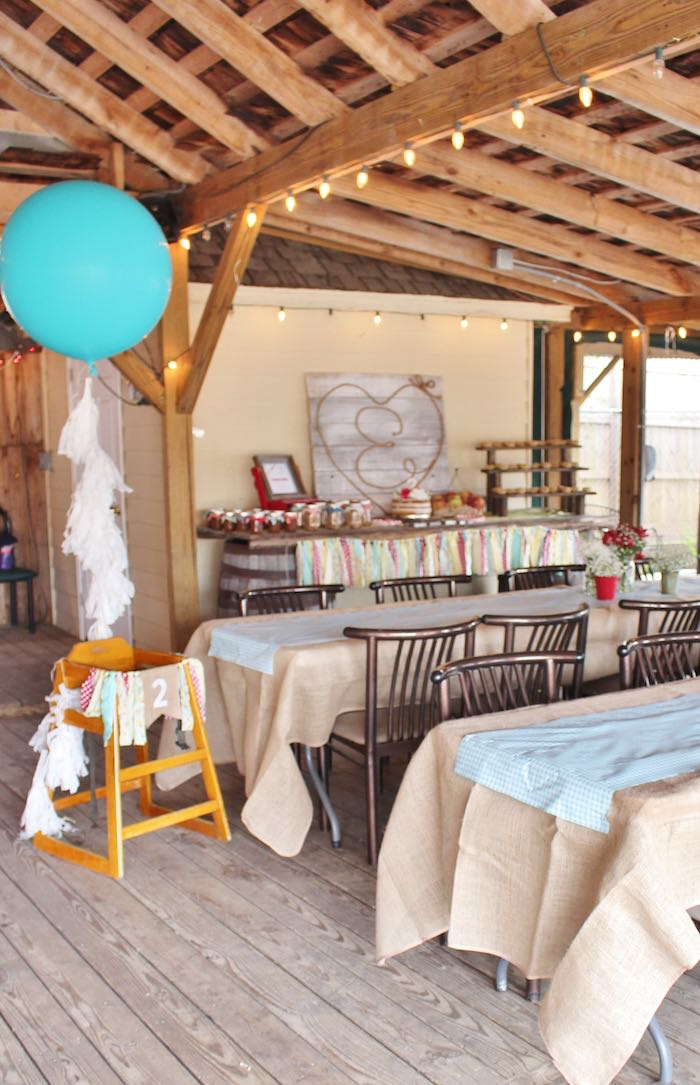 Partyscape from a County Fair Themed Birthday Party via Kara's Party Ideas | The Place for All Things Party! KarasPartyIdeas.com (11)