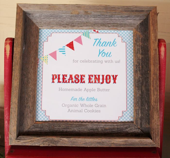 Favor Signage from a County Fair Themed Birthday Party via Kara's Party Ideas | The Place for All Things Party! KarasPartyIdeas.com (28)