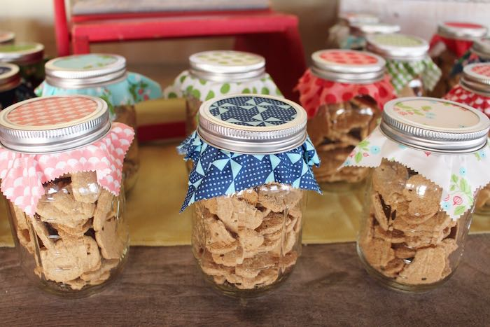Favor Jars from a County Fair Themed Birthday Party via Kara's Party Ideas | The Place for All Things Party! KarasPartyIdeas.com (26)