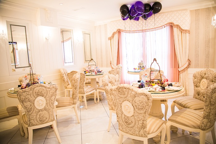 Partyscape from an Elegant Chanel Inspired Birthday Party via Kara's Party Ideas KarasPartyIdeas.com (20)