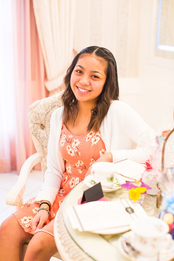 Birthday Girl from an Elegant Chanel Inspired Birthday Party via Kara's Party Ideas KarasPartyIdeas.com (18)