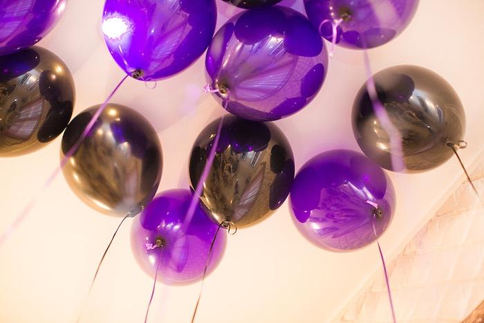 Floating Balloons from an Elegant Chanel Inspired Birthday Party via Kara's Party Ideas KarasPartyIdeas.com (11)