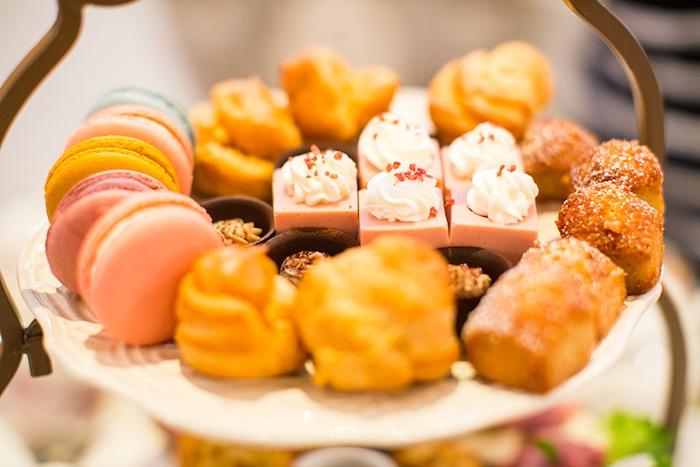 Sweets from an Elegant Chanel Inspired Birthday Party via Kara's Party Ideas KarasPartyIdeas.com (8)