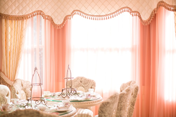 Guest Tables + Partyscape from an Elegant Chanel Inspired Birthday Party via Kara's Party Ideas KarasPartyIdeas.com (32)