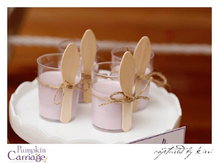 Buttermilk Pannacotta Dessert Cups from an Elegant Floral Baby Shower via Kara's Party Ideas KarasPartyIdeas.com (30)