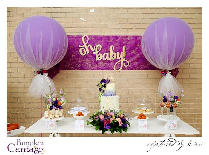 Kara S Party Ideas Elegant Floral Baby Shower Kara S