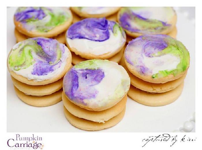 Cookies from an Elegant Floral Baby Shower via Kara's Party Ideas KarasPartyIdeas.com (4)