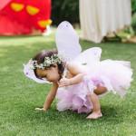 Birthday Girl + Fairy from an Enchanted Fairy Birthday Party via Kara's Party Ideas KarasPartyIdeas.com (1)