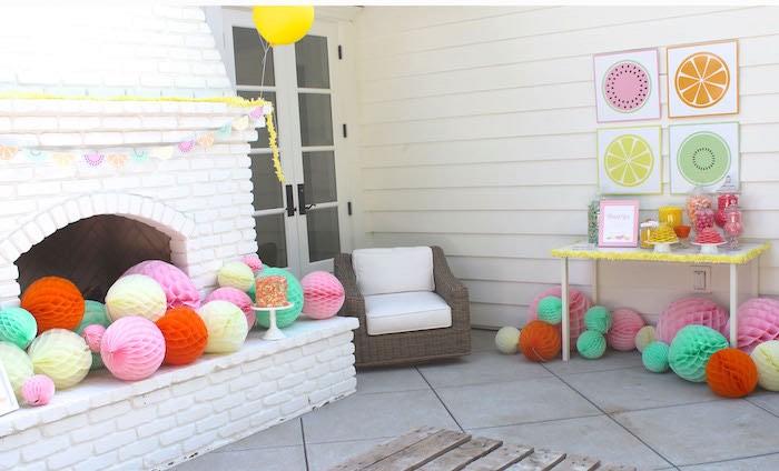 Party Details from a Fruity Lemonade Stand Birthday Party via Kara's Party Ideas | KarasPartyIdeas.com (38)