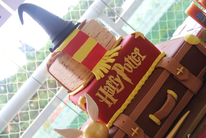 Cake from a Harry Potter Birthday Party via Kara's Party Ideas | KarasPartyIdeas.com (30)