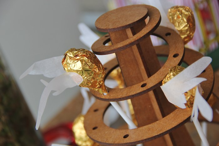 Golden Snitch Pops from a Harry Potter Birthday Party via Kara's Party Ideas | KarasPartyIdeas.com (26)