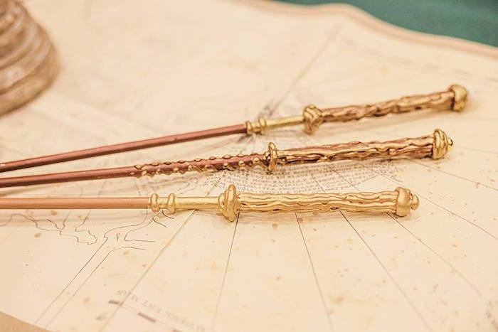 Wands from a Harry Potter Birthday Party via Kara's Party Ideas | KarasPartyIdeas.com | The Place for All Things Party! (32)