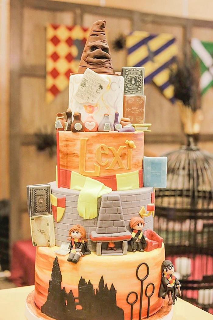 Karas Party Ideas Hogwarts Birthday Party Karas Party Ideas