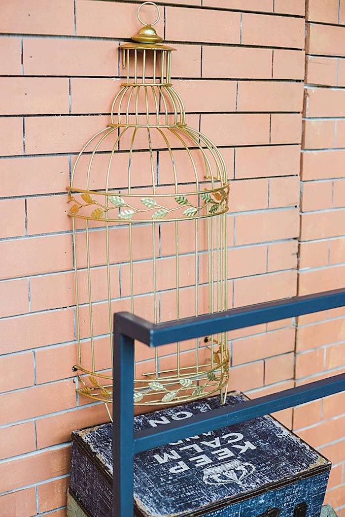 Transporting Cart on Platform 9 3/4 from a Harry Potter Birthday Party via Kara's Party Ideas | KarasPartyIdeas.com | The Place for All Things Party! (22)