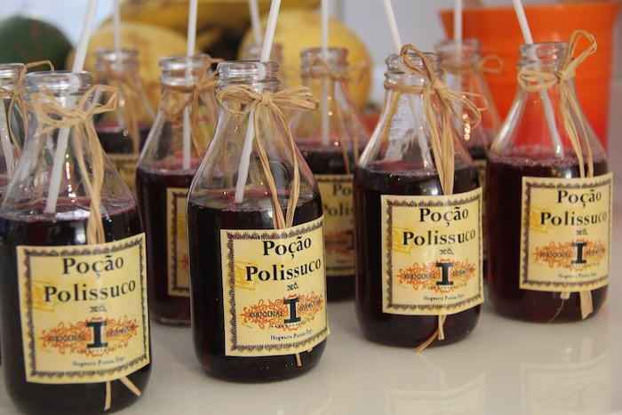 Potion Bottles + Drinks from a Harry Potter Birthday Party via Kara's Party Ideas | KarasPartyIdeas.com (8)