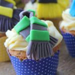 Cupcakes from a Harry Potter Birthday Party via Kara's Party Ideas | KarasPartyIdeas.com (1)