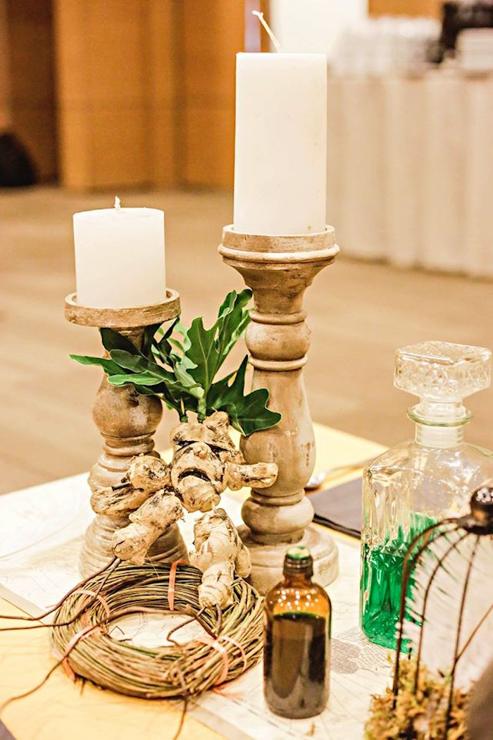 Decor from a Harry Potter Birthday Party via Kara's Party Ideas | KarasPartyIdeas.com | The Place for All Things Party! (13)