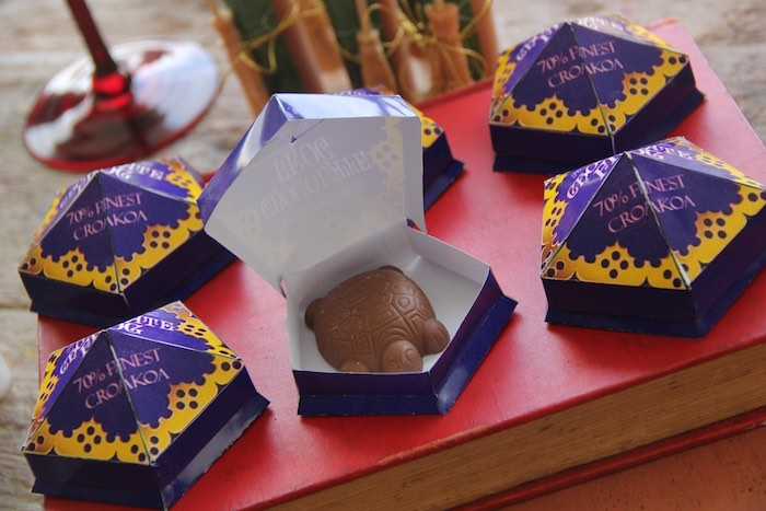 Chocolate Frogs from a Harry Potter Birthday Party via Kara's Party Ideas | KarasPartyIdeas.com (38)