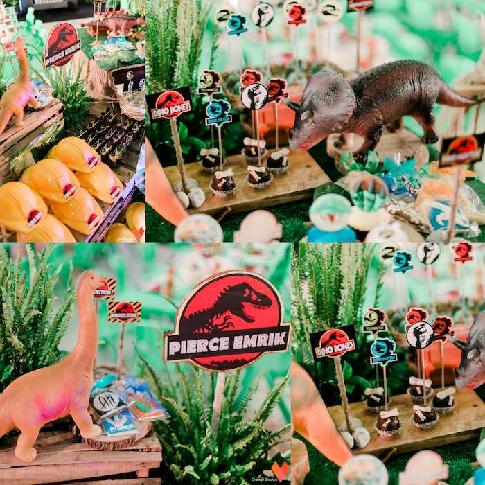 Sweets + Details from a Jurassic Park Themed Birthday Party via Kara's Party Ideas | The Place for All Things Party! KarasPartyIdeas.com (13)