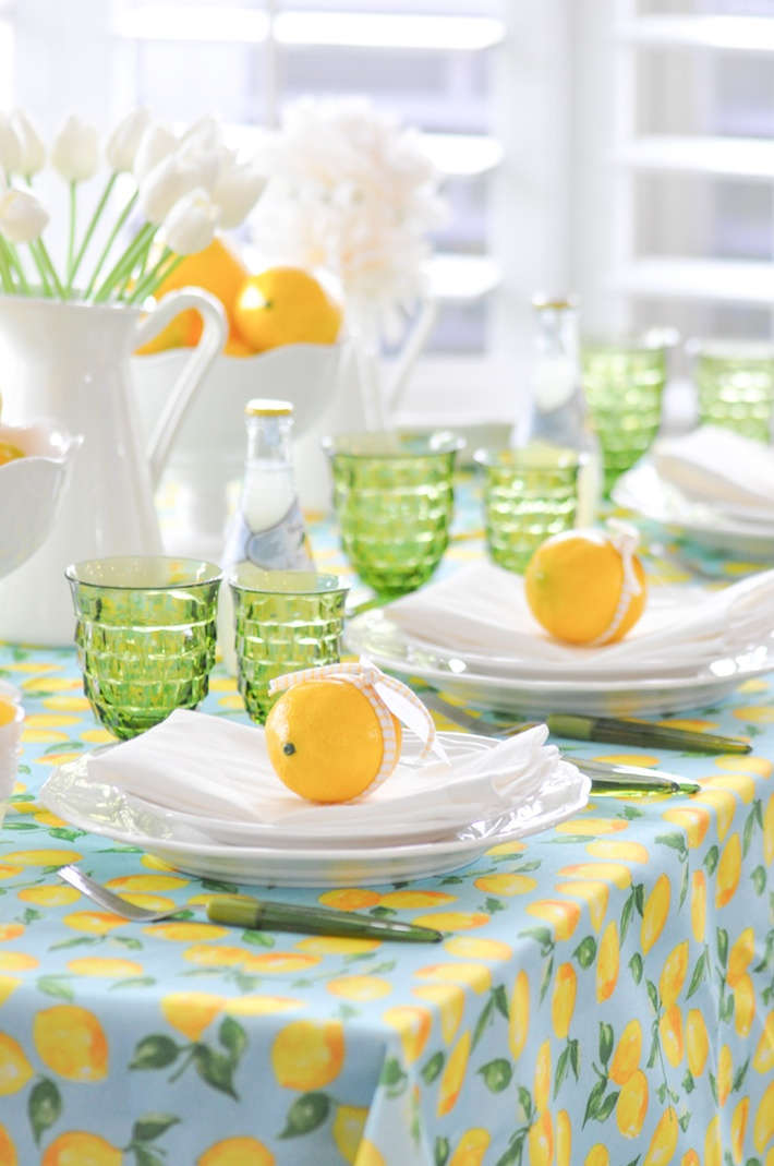 Lemonade | Lemon Tablescape For Motheru0027s Day By Kara Allen | Karau0027s Party  Ideas KarasPartyIdeas.