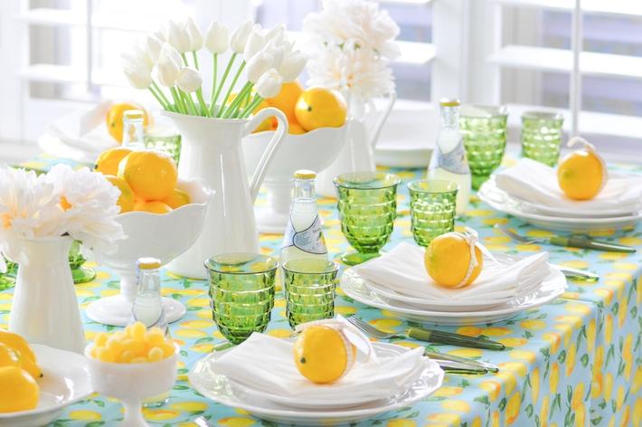 Lemonade | Lemon tablescape for Mother's Day by Kara Allen | Kara's Party Ideas KarasPartyIdeas.com_-67