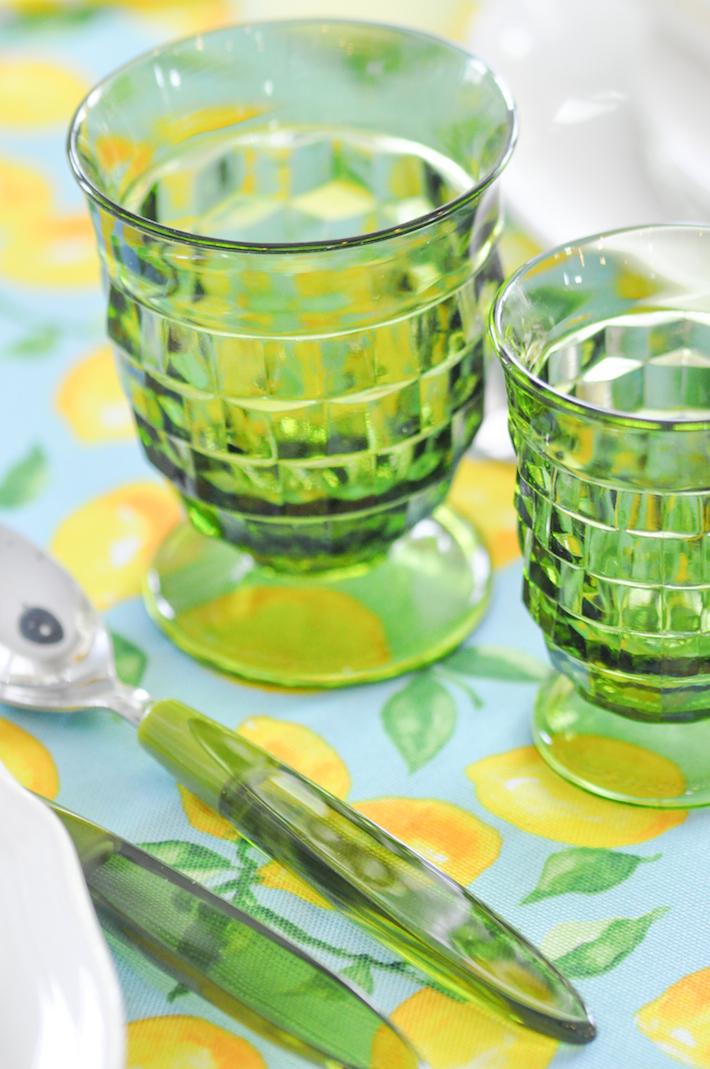 Lemonade | Lemon tablescape for Mother's Day by Kara Allen | Kara's Party Ideas KarasPartyIdeas.com_-92