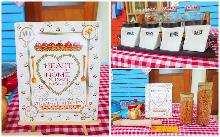 Details + Signage from a Little Chef Birthday Party via Kara's Party Ideas! KarasPartyIdeas.com (32)