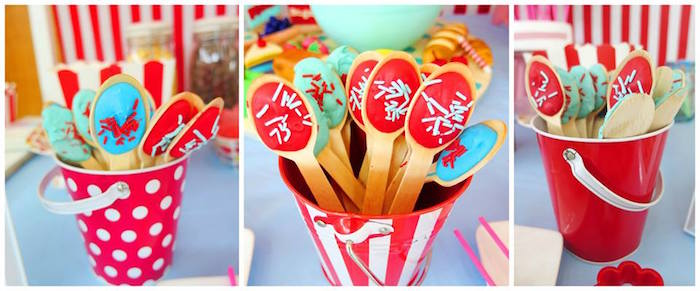 Favor Spoons from a Little Chef Birthday Party via Kara's Party Ideas! KarasPartyIdeas.com (36)