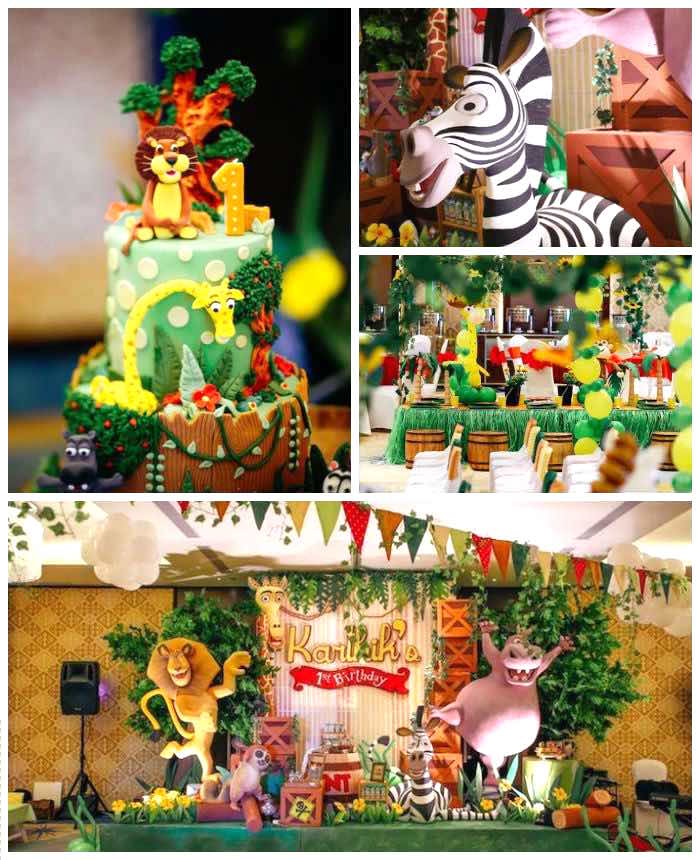 Karas Party Ideas Madagascar Birthday