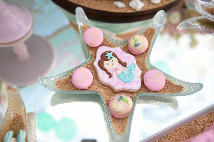 Sweets from a Mermaid Oasis Themed Birthday Party via Kara's Party Ideas | KarasPartyIdeas.com (21)