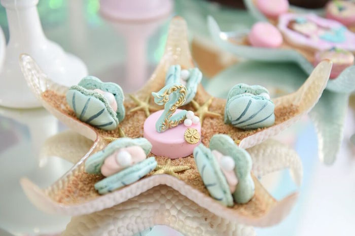 Sweets from a Mermaid Oasis Themed Birthday Party via Kara's Party Ideas | KarasPartyIdeas.com (20)
