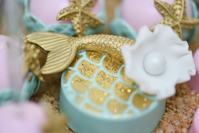 Chocolate Covered Oreo from a Mermaid Oasis Themed Birthday Party via Kara's Party Ideas | KarasPartyIdeas.com (10)