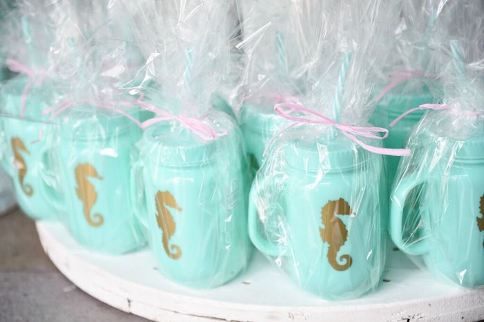 Favors from a Mermaid Oasis Themed Birthday Party via Kara's Party Ideas | KarasPartyIdeas.com (4)
