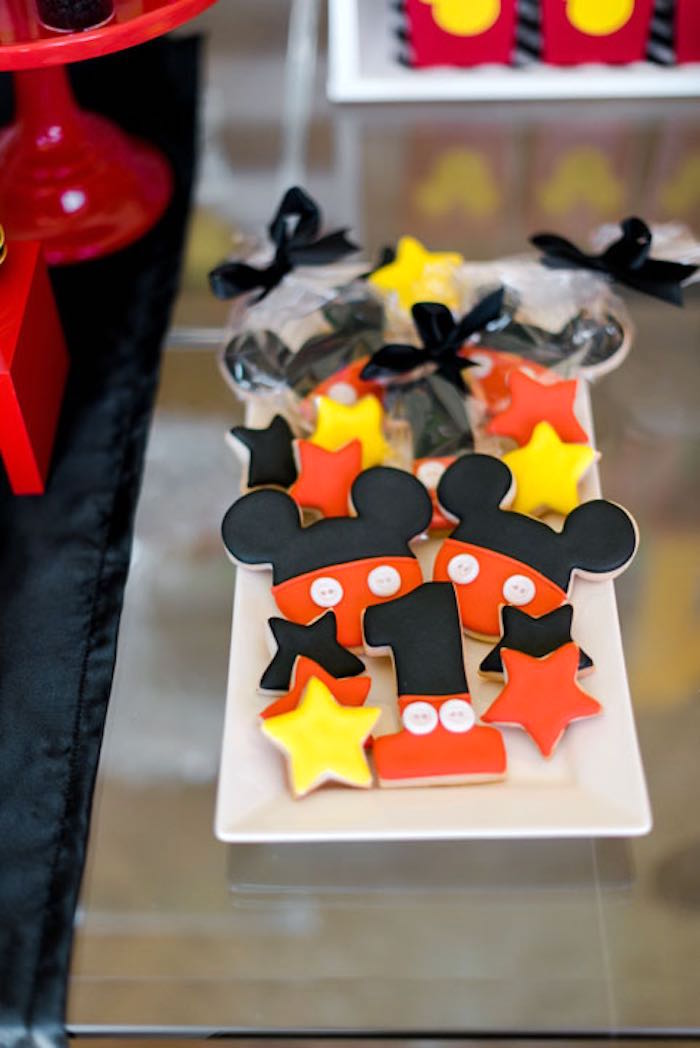 Cookies from a Mickey & Friends Birthday Party via Kara's Party Ideas | KarasPartyIdeas.com (8)