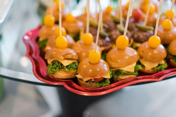 Sliders from a Mickey & Friends Birthday Party via Kara's Party Ideas | KarasPartyIdeas.com (3)