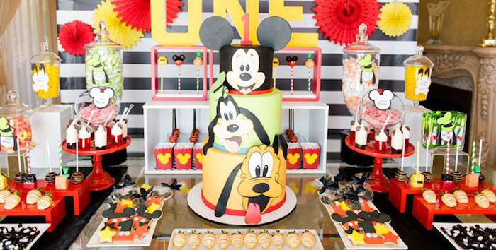 Karas Party Ideas Mickey Friends Birthday