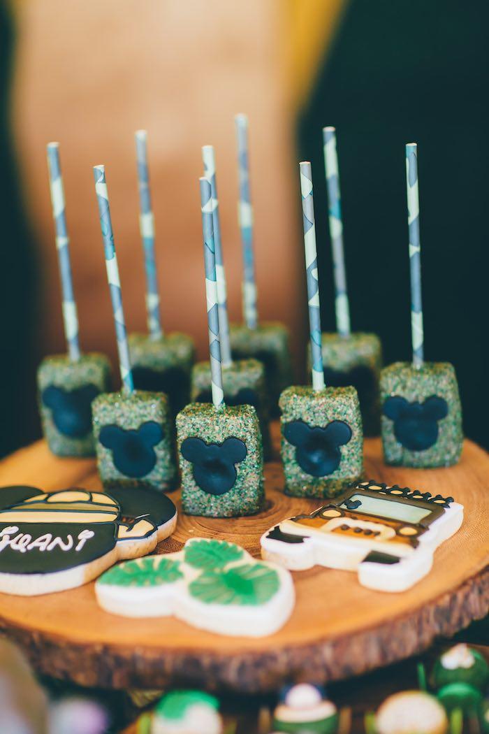 Sweets from a Safari Birthday Party via Kara's Party Ideas | KarasPartyIdeas.com (40)