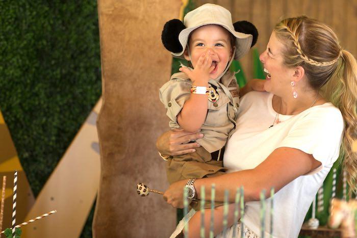 Birthday Boy from a Safari Birthday Party via Kara's Party Ideas | KarasPartyIdeas.com (33)