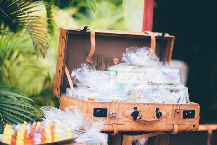 Favors from a Safari Birthday Party via Kara's Party Ideas | KarasPartyIdeas.com (25)