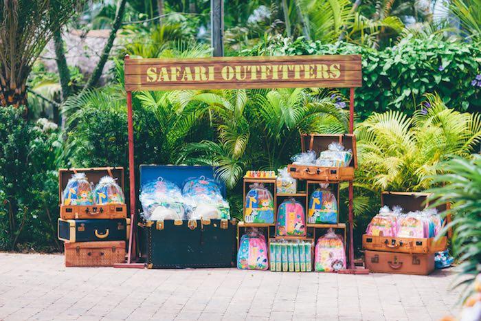 Safari Outfitter Favors from a Safari Birthday Party via Kara's Party Ideas | KarasPartyIdeas.com (21)