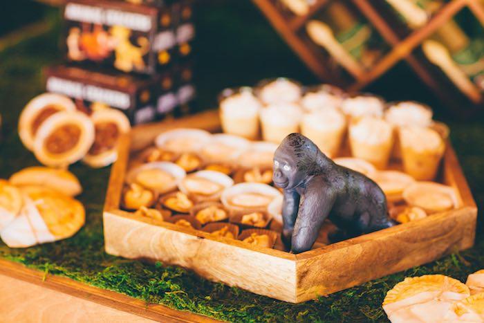Gorilla + Sweets from a Safari Birthday Party via Kara's Party Ideas | KarasPartyIdeas.com (18)
