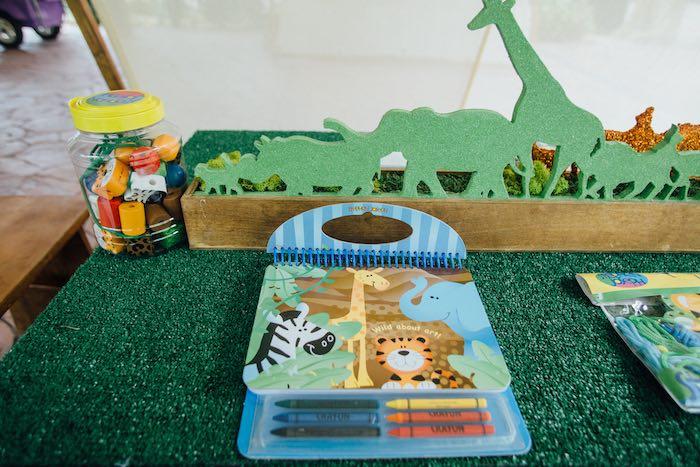 Coloring + Activity Book from a Safari Birthday Party via Kara's Party Ideas | KarasPartyIdeas.com (51)