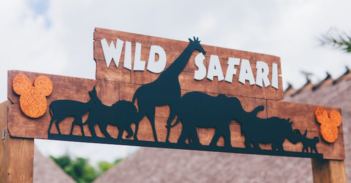 Entrance Sign from a Safari Birthday Party via Kara's Party Ideas | KarasPartyIdeas.com (3)