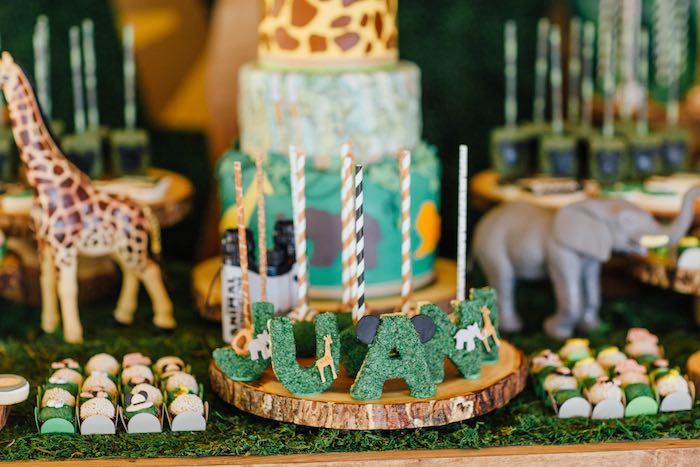 Sweet Details from a Safari Birthday Party via Kara's Party Ideas | KarasPartyIdeas.com (47)