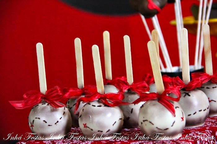 Treasure Map Sweets from a Mickey Mouse Pirate Themed Birthday Party via Kara's Party Ideas - KarasPartyIdeas.com (52)
