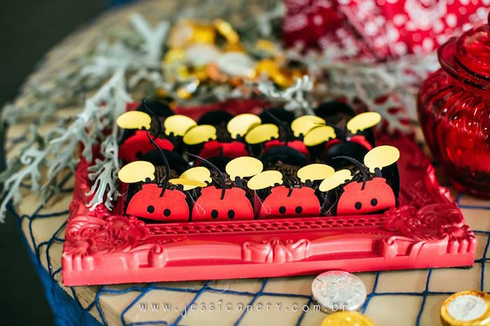 Sweets from a Mickey Mouse Pirate Themed Birthday Party via Kara's Party Ideas - KarasPartyIdeas.com (51)