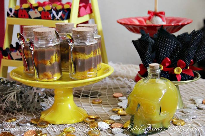 Sweet Table Details from a Mickey Mouse Pirate Themed Birthday Party via Kara's Party Ideas - KarasPartyIdeas.com (10)
