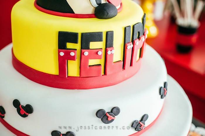Cake Detail from a Mickey Mouse Pirate Themed Birthday Party via Kara's Party Ideas - KarasPartyIdeas.com (6)